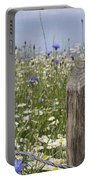 Cornflower Meadow Portable Battery Charger