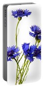 Cornflowers Portable Battery Charger