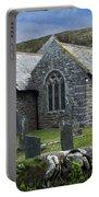 Cornish Seascape St Winwaloe Church Portable Battery Charger