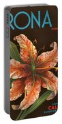 Corona Lily Crate Label Portable Battery Charger