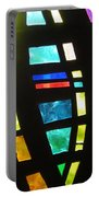 Coronado Hospital Chapel Stained Glass Portable Battery Charger
