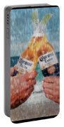 Coronas In The Rain Portable Battery Charger