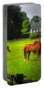 Corralled Horses - Featured In And Lets All Participate And Abc Groups Portable Battery Charger