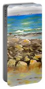 Corrimal Beach Near Towradgi Rook Pool Portable Battery Charger