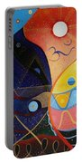 Cosmic Carnival Vlll Aka Sacred And Profane Portable Battery Charger
