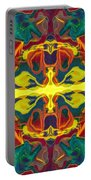 Cosmic Designs Abstract Pattern Artwork Portable Battery Charger