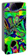 Cosmic Dragonfly Art 2 Portable Battery Charger