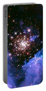 Cosmic Mountains Portable Battery Charger