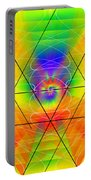 Cosmic Spiral Ascension 01 Portable Battery Charger