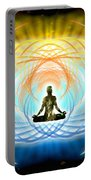 Cosmic Spiral Ascension 04 Portable Battery Charger