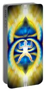 Cosmic Spiral Ascension 08 Portable Battery Charger