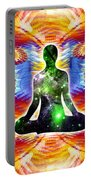 Cosmic Spiral Ascension 10 Portable Battery Charger