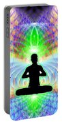 Cosmic Spiral Ascension 11 Portable Battery Charger