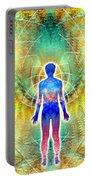 Cosmic Spiral Ascension 12 Portable Battery Charger