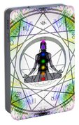 Cosmic Spiral Ascension 14 Portable Battery Charger
