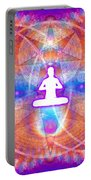 Cosmic Spiral Ascension 15 Portable Battery Charger