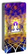 Cosmic Spiral Ascension 18 Portable Battery Charger
