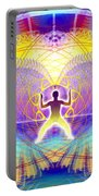 Cosmic Spiral Ascension 20 Portable Battery Charger