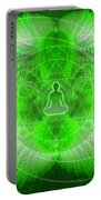 Cosmic Spiral Ascension 24 Portable Battery Charger