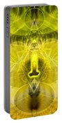 Cosmic Spiral Ascension 26 Portable Battery Charger