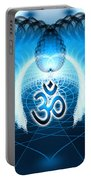 Cosmic Spiral Ascension 30 Portable Battery Charger