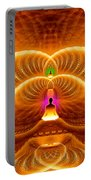 Cosmic Spiral Ascension 33 Portable Battery Charger