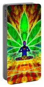 Cosmic Spiral Ascension 34 Portable Battery Charger