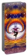 Cosmic Spiral Ascension 54 Portable Battery Charger