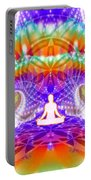 Cosmic Spiral Ascension 60 Portable Battery Charger