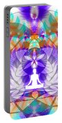 Cosmic Spiral Ascension 61 Portable Battery Charger