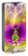 Cosmic Spiral Ascension 62 Portable Battery Charger