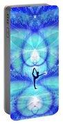 Cosmic Spiral Ascension 65 Portable Battery Charger