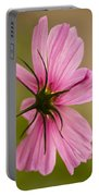 Cosmos In Pink Portable Battery Charger