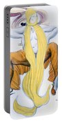 Costume Design For A Bacchic Dancer Portable Battery Charger