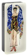Costume Design For A Dancing Girl Portable Battery Charger