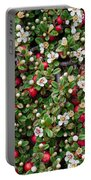 Cotoneaster Bush Background Portable Battery Charger