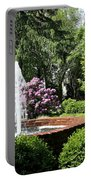 Cottage Garden Fountain Portable Battery Charger