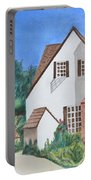 Cottage On A Hill Portable Battery Charger