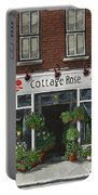 Cottage Rose Portable Battery Charger