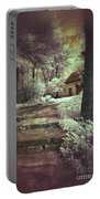 Cottages In The Woods Portable Battery Charger by Jill Battaglia