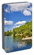 Cottages On Lake With Docks Portable Battery Charger