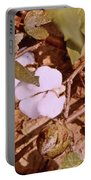 Cotton Bolls Portable Battery Charger