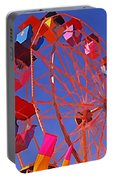 Cotton Candy Ferris Wheel Portable Battery Charger