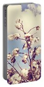 Cotton In The Sky With Filter Portable Battery Charger