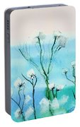 Cotton Poppies Portable Battery Charger