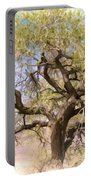 Cottonwood Tree Digital Painting Portable Battery Charger