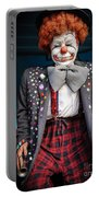 Coulrophobia Portable Battery Charger