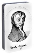 Count Amedeo Avogadro (1776-1856) Portable Battery Charger