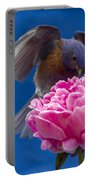 Count Bluebird Portable Battery Charger by Jean Noren