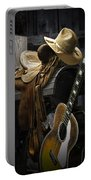 Country And Western Music Portable Battery Charger